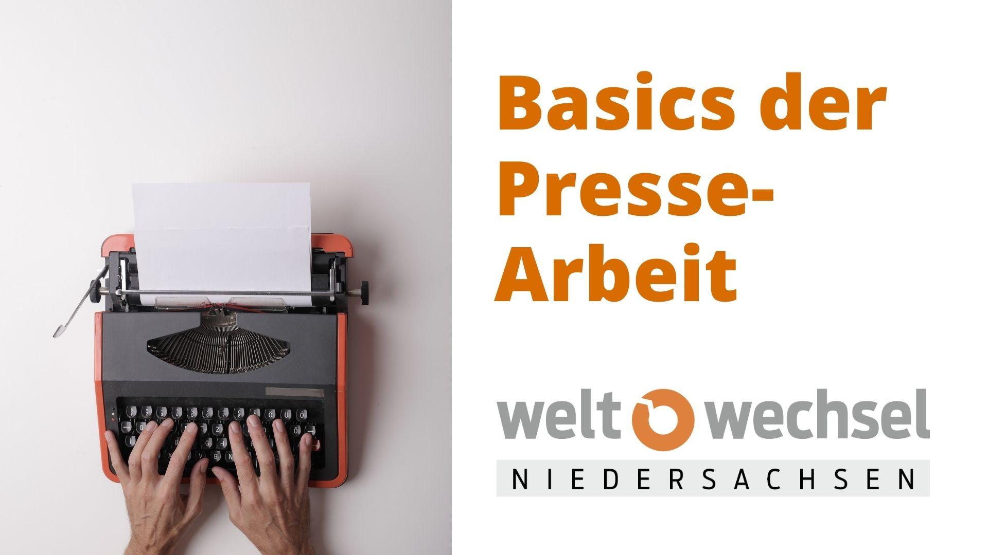 Online-Fortbildung am 08.10.: Basics der Pressearbeit