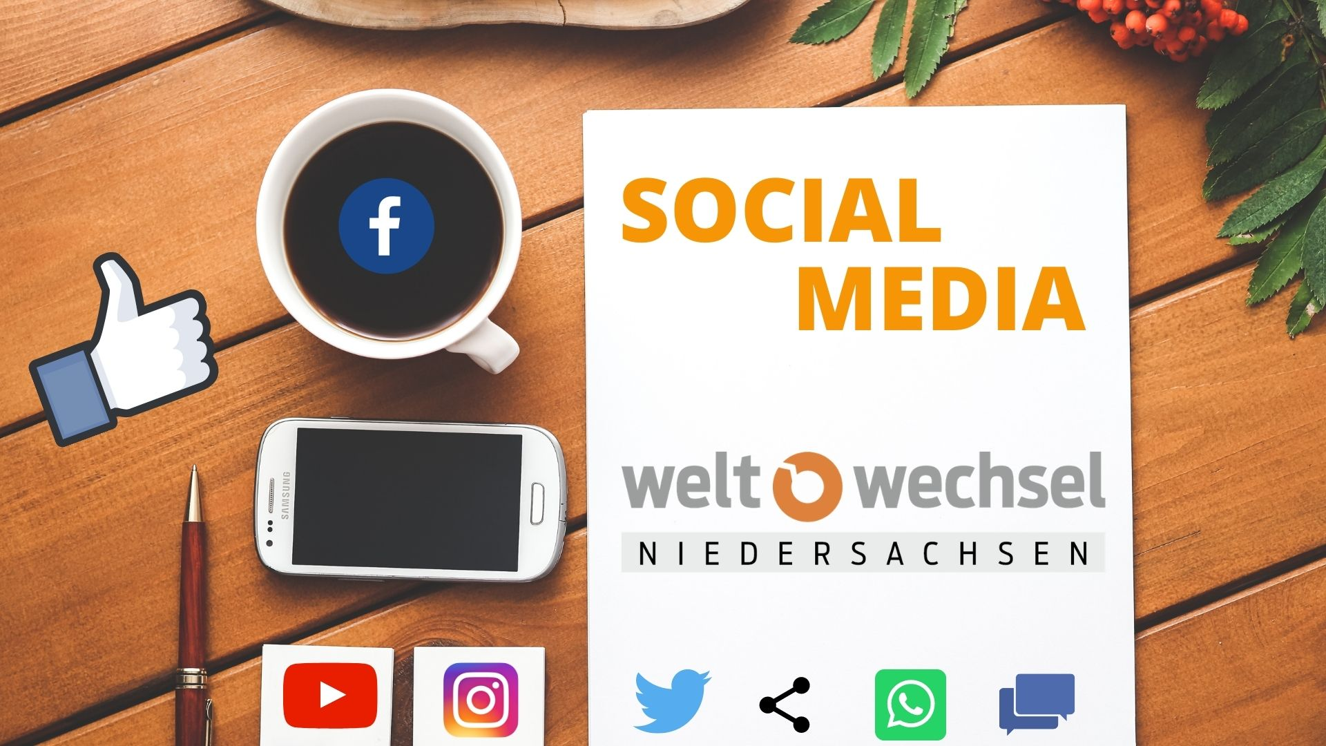 Online-Fortbildung am 22.10.: Social Media
